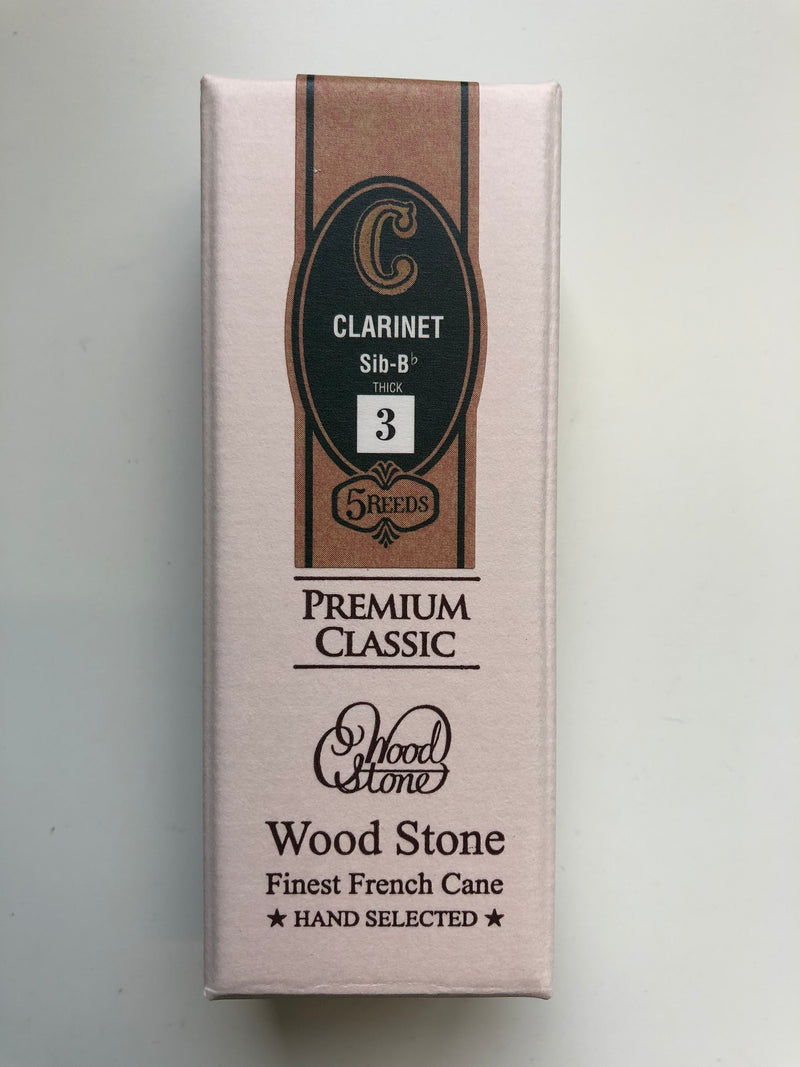 Ishimori Wood Stone Reeds Bb Clarinet - Box of 5