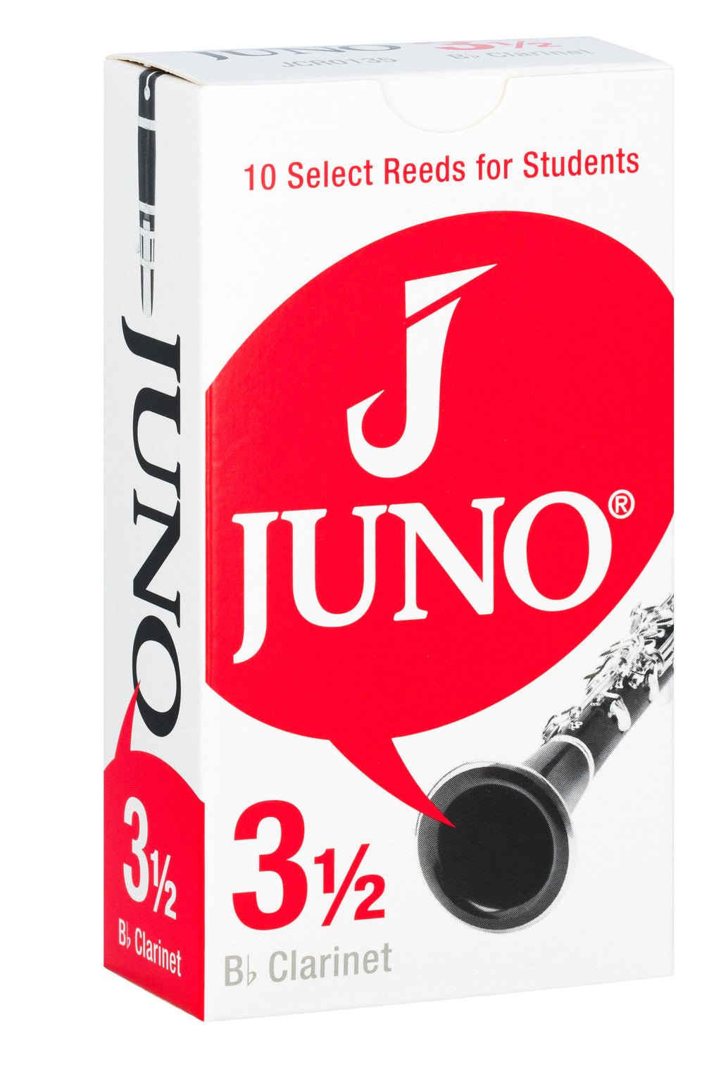 Vandoren Juno Reeds Bb Clarinet - Box of 10