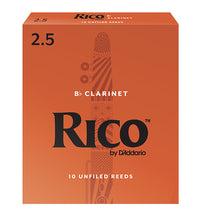 Rico Orange Box Reeds Bb Clarinet - Box of 10