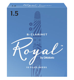 Rico Royal Reeds Bb Clarinet - Box of 10