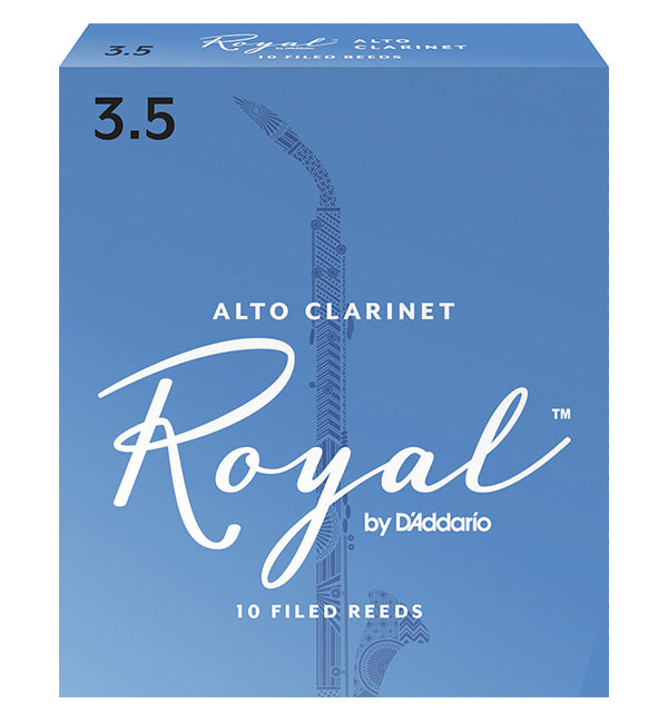 Rico Royal Reeds Alto Clarinet - Box of 10