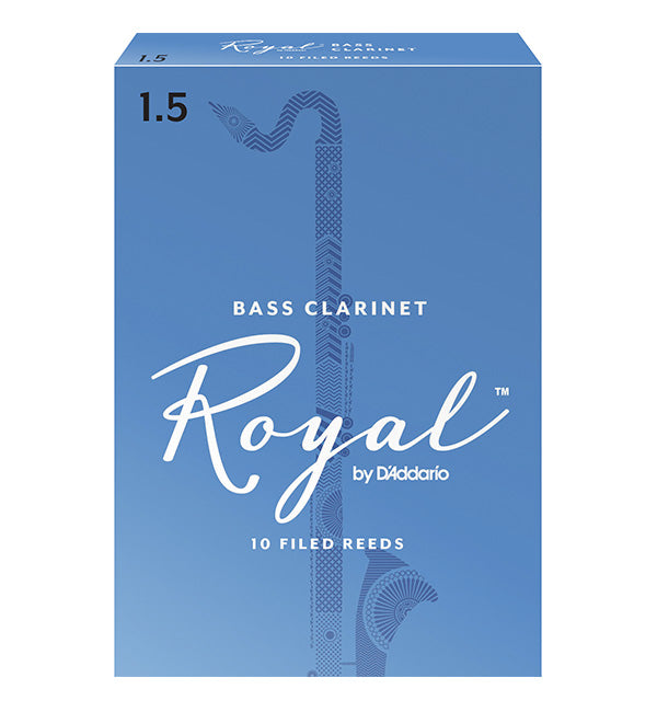 Rico Royal Reeds Bass Clarinet - Box of 10