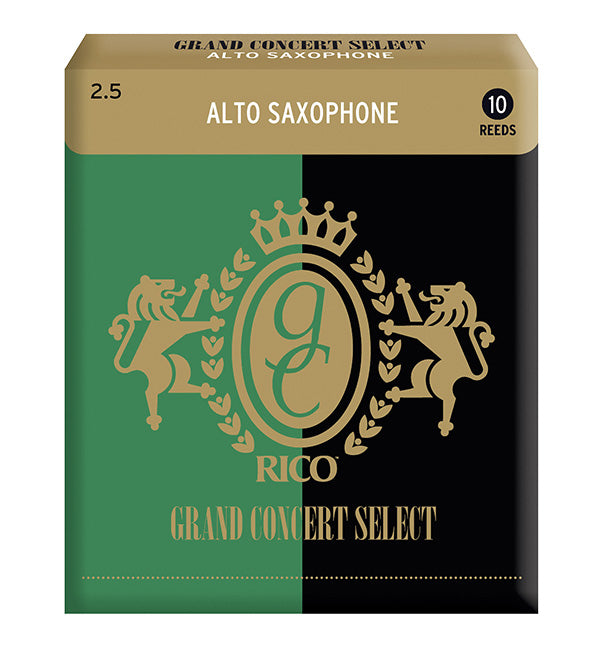 Grand Concert Select Reeds Alto Saxophone - Box of 10