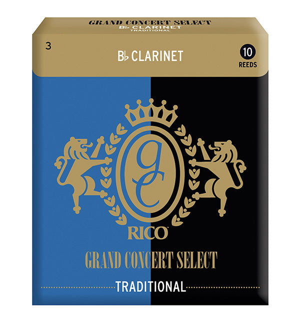 Grand Concert Select Traditional Reeds Bb Clarinet - Box of 10