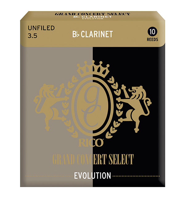 Grand Concert Select Evolution Reeds Bb Clarinet - Box of 10