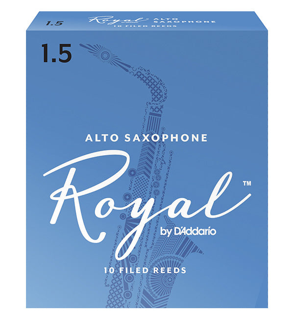 Rico Royal Reeds Alto Saxophone - Box of 10