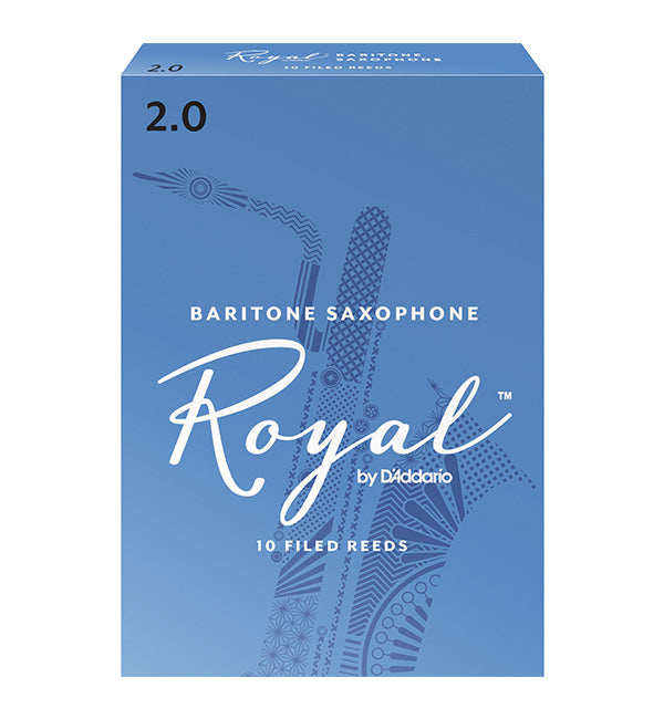 Rico Royal Reeds Baritone Saxophone - Box of 10