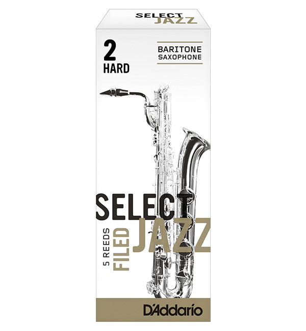 D'Addario Select Jazz Filed Reeds Baritone Saxophone - Box of 5
