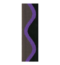 Rico Fabric Saxophone Neck Strap - Jazz Wave