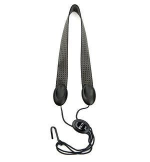 Rico Fabric Saxophone Neck Strap - Industrial