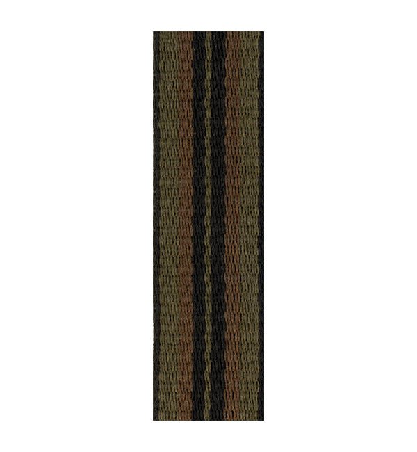Rico Fabric Saxophone Neck Strap - Jazz Stripe 2