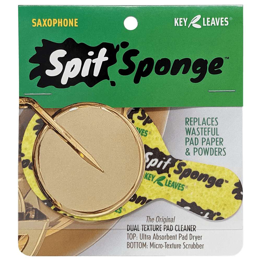 Key Leaves Spit Sponge - Saxophone Pad Dryer