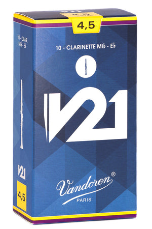 Vandoren V21 Reeds Eb Clarinet - Box of 10