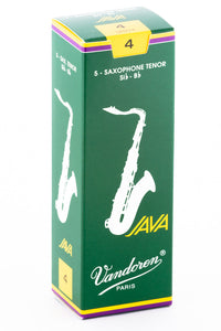 Vandoren JAVA Reeds Tenor Saxophone - Box of 5