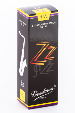 Vandoren ZZ Jazz Reeds Tenor Saxophone - Box of 5