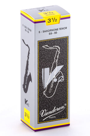 Vandoren V12 Reeds Tenor Saxophone - Box of 5