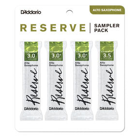 D'Addario Reserve Reeds Alto Saxophone - Sample Pack