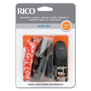 Rico Smart Pak Mouthpiece Kit - Alto Saxophone