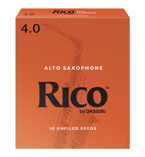 Rico Orange Box Reeds Alto Saxophone - Box of 10