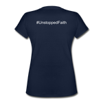 Women's V-Neck T-Shirt - navy
