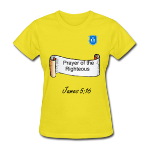 Women's T-Shirt - yellow