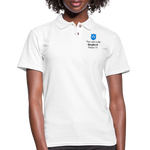 Women's Pique Polo Shirt - white