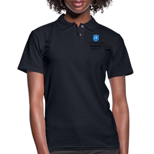 Women's Pique Polo Shirt - midnight navy