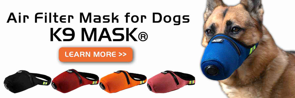 K9 Air Pollution Gas Filter Mask for Dogs