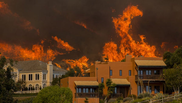 California fires in malibu 2018