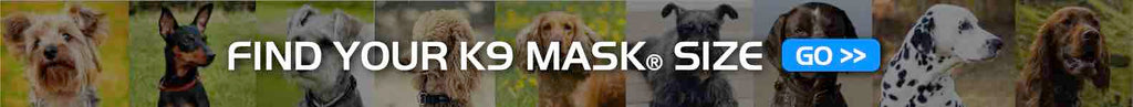 K9 Mask Maattabel voor Dog Fit Air gezichtsmasker