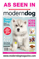 Masca K9 în revista Modern Dog - Cool New Product