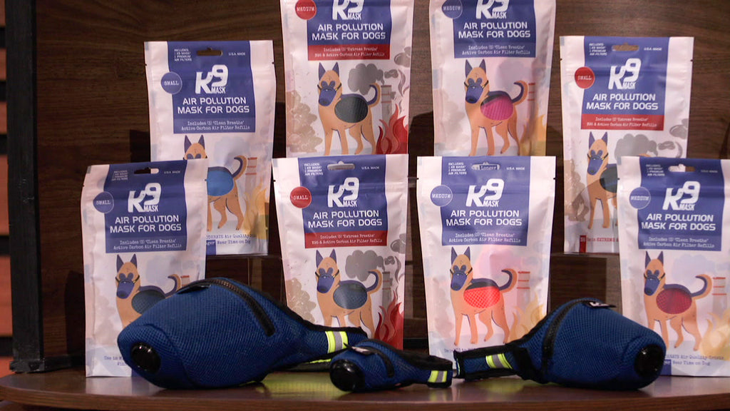 K9 Mask Product Package on Shark Tank