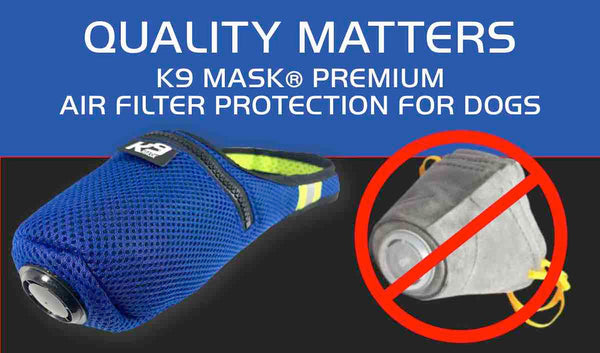 K9 Mask® Review Amazon Compare Best Air Pollution Filter Mask for Dog