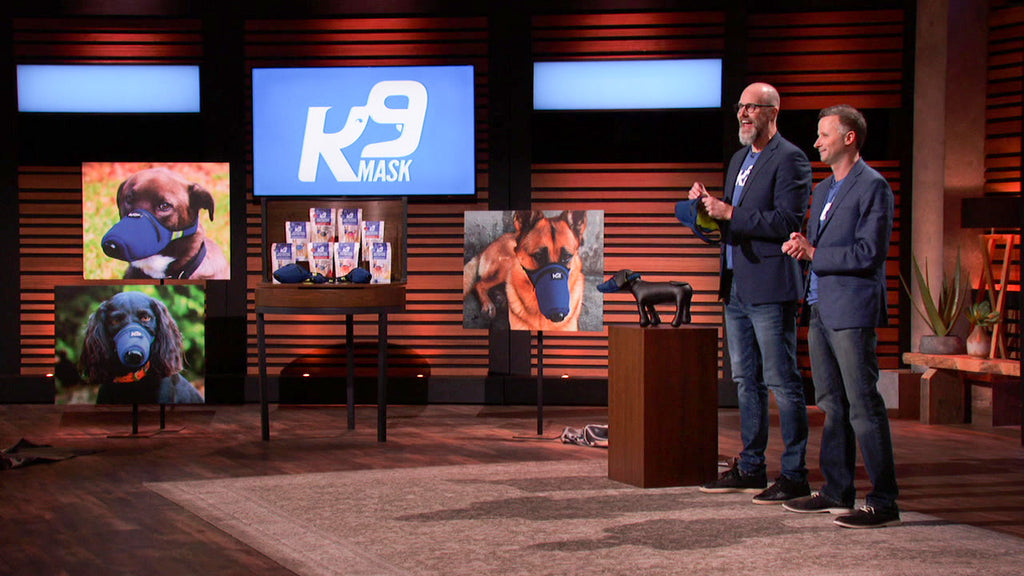 K9 Mask® Air Filter for Dogs on Shark Tank على ABC