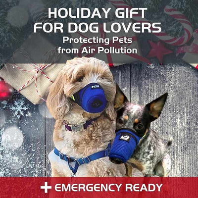 K9 Mask® Holiday Gift Sale Best Air Filter Mask for Dogs