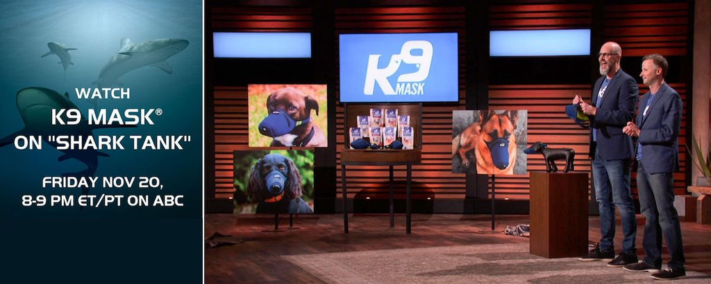 Shark Tank on ABC Features K9 Mask® by Good Air Team