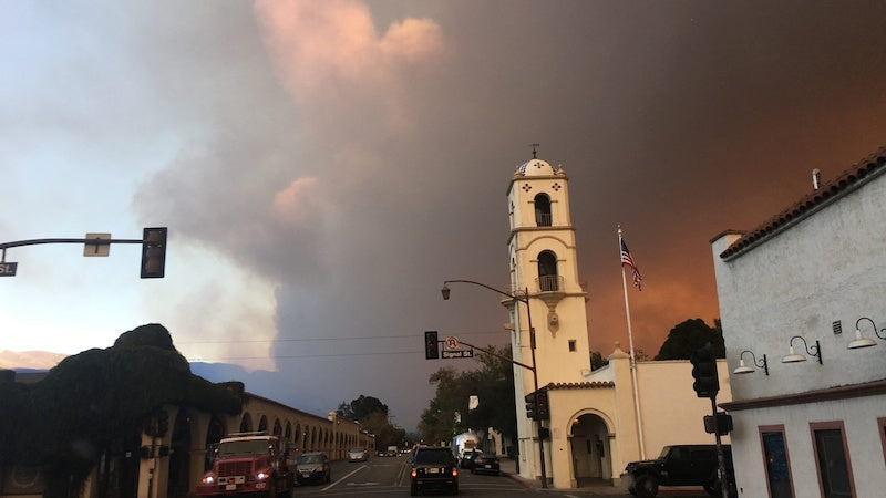 Incendies d'Ojai