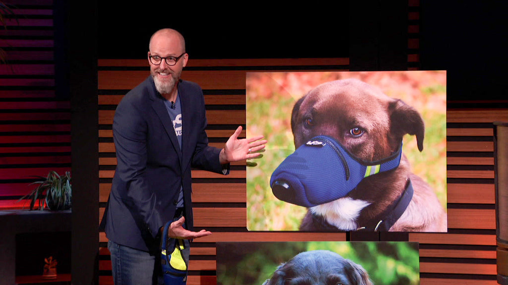 K9 Mask® Air Filter for Dog on Shark Tank على ABC