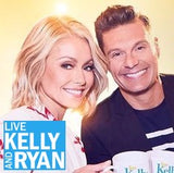 Morning Show Kelly Rippa en Ryan Seacrest met K9 Mask