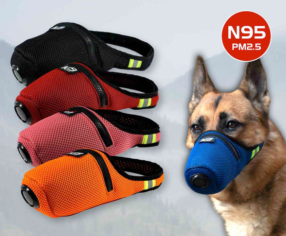 Pasadyang Kulay K9 Mask® Air Filter para sa mga Dogs Extreme Breathe filter refills
