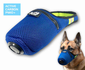 K9 Mask® Clean Breathe Dog Air Filter Mask Penapis Karbon Aktif