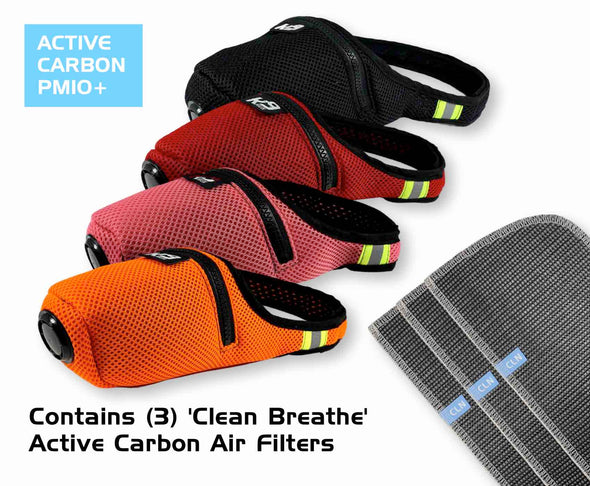 K9 Mask® Colors Clean Breathe Dog Air Pollution Filter Mask