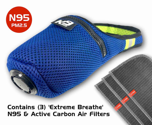 K9 Mask® Extreme Breathe Dog Air Filter Mask N95-filtre