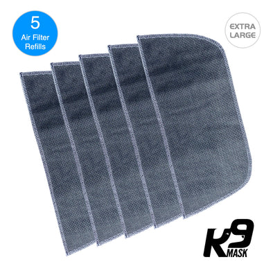 Extra Large K9 Mask Mask Air Filter Five Layer N95 PM2.5