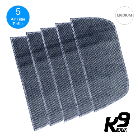 Katamtaman - K9 Mask Air Filter Limang Layer N95 PM2.5