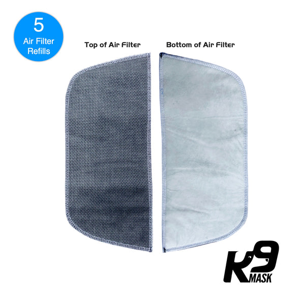 Pure Air X1 Dog Air Pollution Filter Refills - Medium (5 pack)