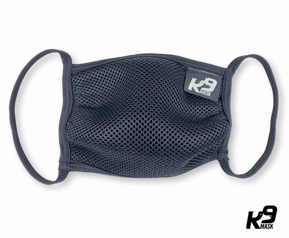 K9 Mask® for Humans clean breathe air face mask black