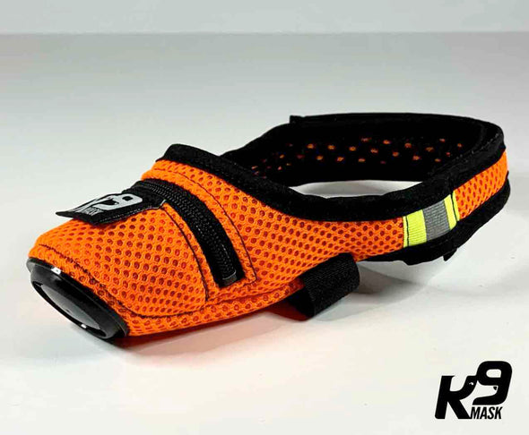 K9 Mask® for hunder med 'Extreme Breathe' N95 og Active Carbon Air Filters - farger