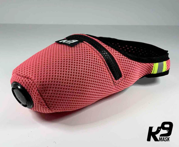 K9 Mask® for Dogs with 'Clean Breathe' Active Carbon Air Filters - Colors