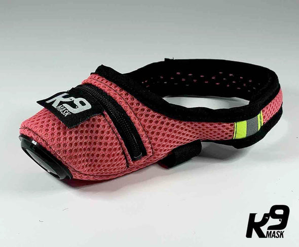 K9 Mask® for Dogs with 'Extreme Breathe' N95 & Active Carbon Air Filters - Colors
